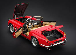 california model car cmc models 1961 250 gt swb california spyder diecast