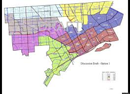 Southwest Michigan Map by Detroit Redistricting Draft Maps Revealed By City Council Huffpost