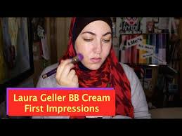 laura geller bb cream light laura geller bb cream first impressions youtube