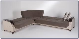 brown microfiber recliner sectional sleeper sofa sofas home
