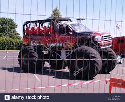 Big Red Monster Truck Stock Photos U0026 Big Red Monster Truck Stock
