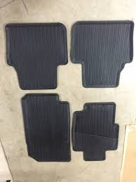 lexus all season floor mats sold all weather floor mats 04 08 tl new acurazine acura