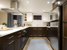 Modern L Shaped Kitchen With Island by Kitchen Islands Contemporary Kitchen Installed On Hardwood