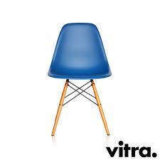 Esszimmerstuhl Ahorn Vitra Eames Plastic Side Chair Dsw Marineblau Ahorn