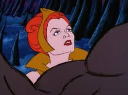 Teela And Evil Lyn - season 1 episode 15 a beastly sideshow he man reviewed