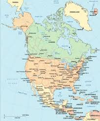 canadian map cities usa and canada map major cities of america blank united