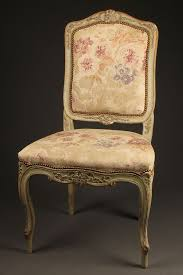 Style Chairs Antique Pair Of Louis Xv Style Side Chairs