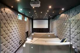 Home Theater Design Los Angeles by This Smaller Narrow Space For A Home Theater Room Worked Out