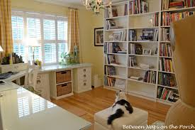Pottery Barn Home Office Furniture Buffalo Check Curtains For The Office
