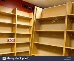 empty bookshelves stock photo royalty free image 35874242 alamy