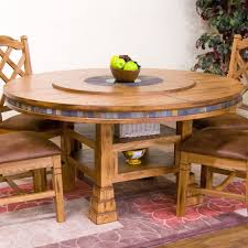 round table with lazy susan built in sunny designs 1225ro sedona 60 round table with lazy susan in