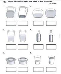 107 best pre primary measurement images on pinterest math