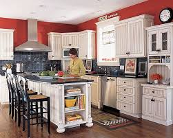 Red Kitchen White Cabinets I Need Help Quick