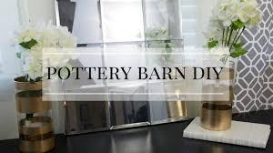 Pottery Barn Tree Dollar Tree Pottery Barn Diy Inspired Youtube