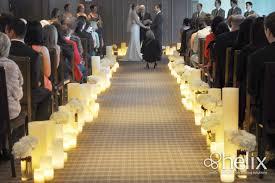 wedding aisle decor wedding aisle decor ceremony decor helix candles