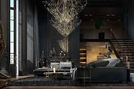 Light Interior by Beautiful Black Interior Showcased In A Historic Paris Apartment
