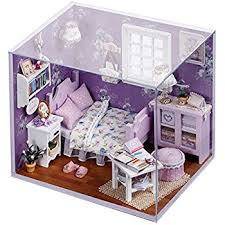 Build A Toy Chest Kit by Amazon Com Cuteroom Dollhouse Miniature Diy House Kit Cute Room