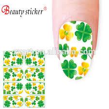 nail art decal stickers water slide lucky irish nail sticker buy