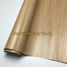 interier oak wood grain vinyl film adhesive backed sheet for floor