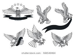 eagle tattoo clipart eagle tattoo images stock photos vectors shutterstock