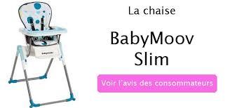 chaise haute babymoov slim chaise haute babymoov slim nos mamans l ont essayée