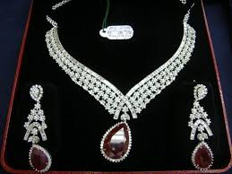diamond sets design designer diamond necklaces awesome sparklers exporter in