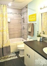 gray bathroom decorating ideas black and yellow bathroom decor ghanko com