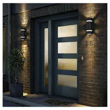 outdoor wall sconce lighting indoor outdoor wall sconce 2 lights 13 rona