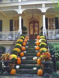 Front Porch Fall Decorating Ideas - greet your guests with this impressive display http www