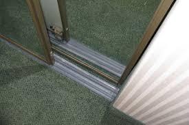 Sliding Closet Door Track Sliding Closet Door Track Bottom Thesecretconsul Bypass Closet