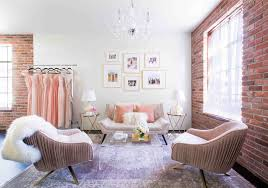 The Living Room Salon This Bridal Salon Is So Chic You U0027ll Want To Marry It Instyle Com