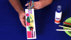 how to make a bookmark arts and crafts youtube