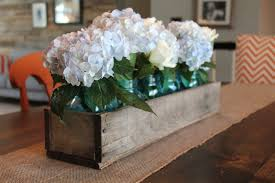 wood centerpieces rustic wooden planter centerpiece box rustic home decor wood