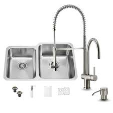 Vigo Stainless Steel Faucet Kitchen Sink And Faucet Sets 28 Images Vigo Stainless Steel