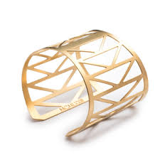 cuff bracelet images Architectural triangle cuff bracelet bridge inspired edgy and jpg