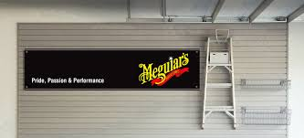 meguiars garage workshop banner