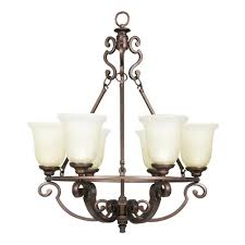 home depot chandelier home decorators collection fairview 6 light heritage bronze