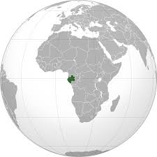 gabon in world map location of the gabon in the world map