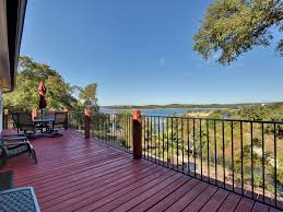 lakefront house with multi level decks and vrbo