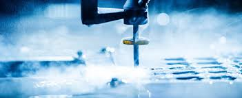 waterjet cutting machine from water jet sweden