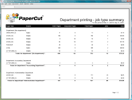 monthly work report template reporting in detail report department printing job type summary