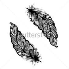 sbink tribal feather tattoo https tattoosk com tribal