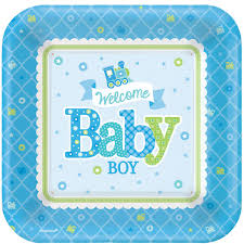 welcome boy party baby shower fun party supplies