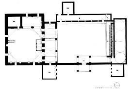 floor plan of mosque of islamic architecture