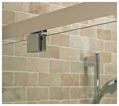standard kubo 700mm pivot alcove enclosure shower door t7371eo