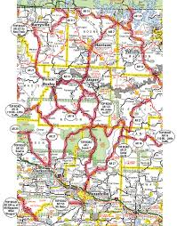 ozarks map motorcycle maps cruise the ozarks motorcyclist s guide to