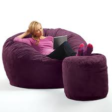 Where Can I Buy Bean Bag Chairs Micro Suede Theater Sack Bean Bag Chair At Brookstone U2014buy Now
