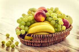 fruit basket free photo fruit basket bananas grapes free image on pixabay