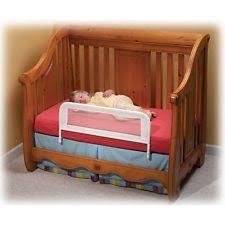 Convertible Crib Rail Br102 Safety Kidco Mesh Rail Crib Bed Baby White Convertible Ebay