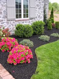 Simple Backyard Landscapes Landscape Simple Landscaping Ideas Using Mulch For Country Home